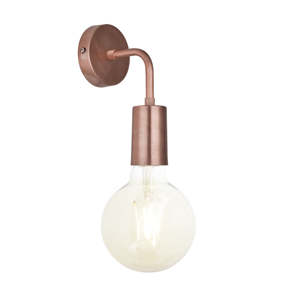 Sleek Edison Wall Light by INDUSTVILLE