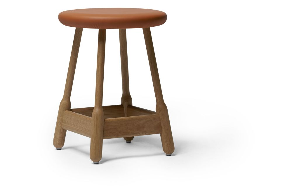 Albert Stool, Upholstered by Massproductions