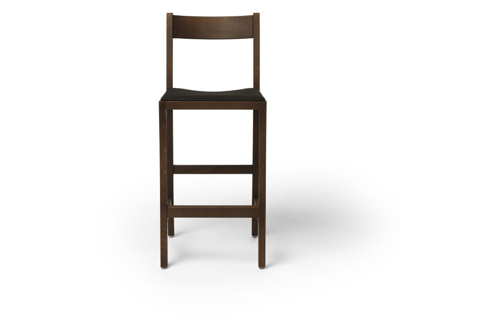 Waiter Bar Stool, Upholstered by Massproductions