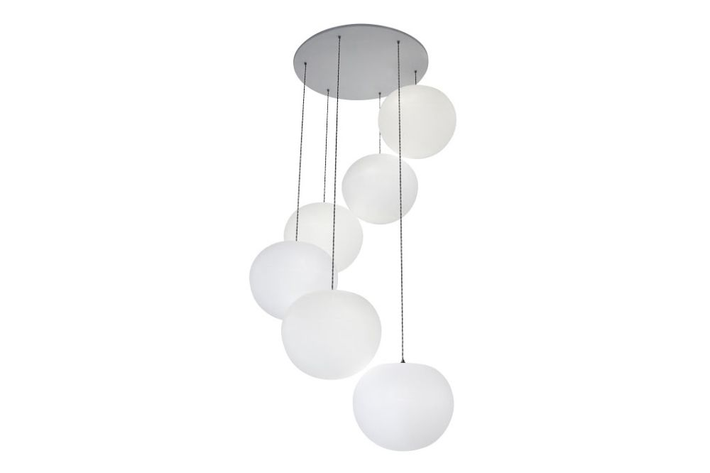 Polly 6-Drop Pendant Light by One Foot Taller