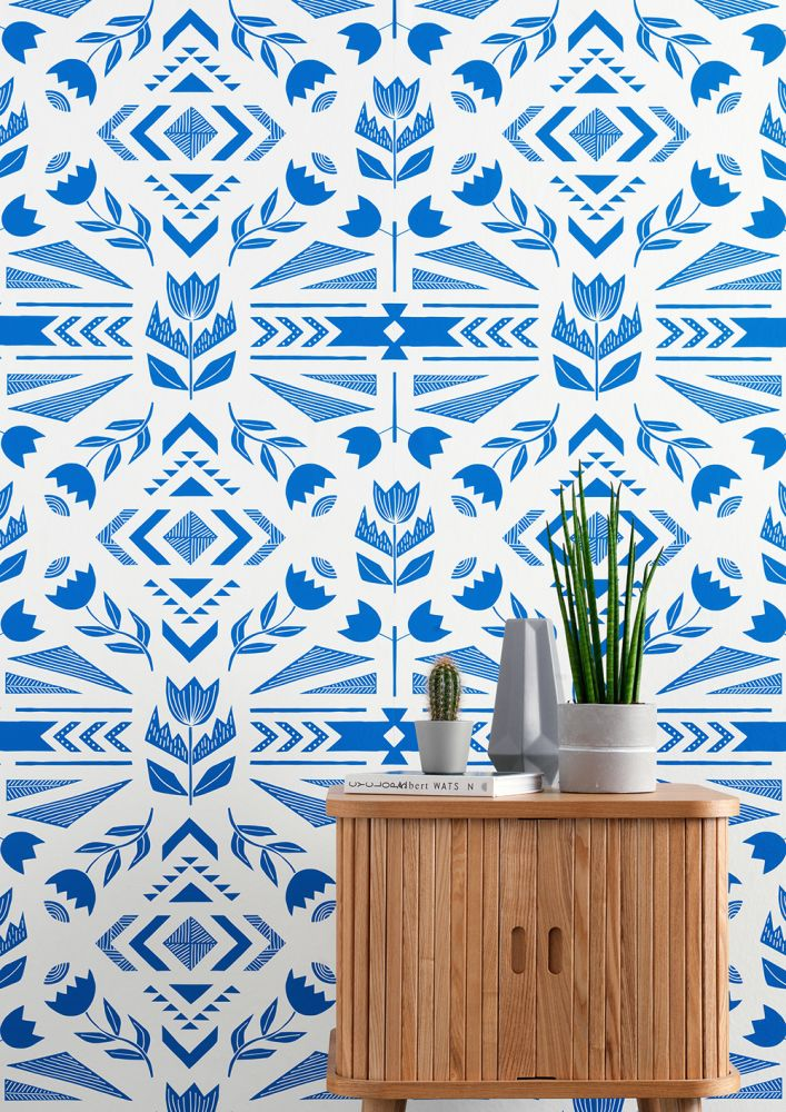 Andes Wallpaper by Sian Elin