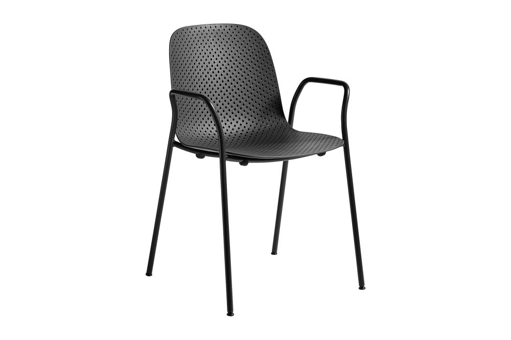 13Eighty Dining Chair with Armrests by Hay