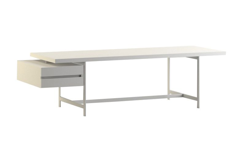 Lochness Writing Desk with Chest Of Drawers by Cappellini