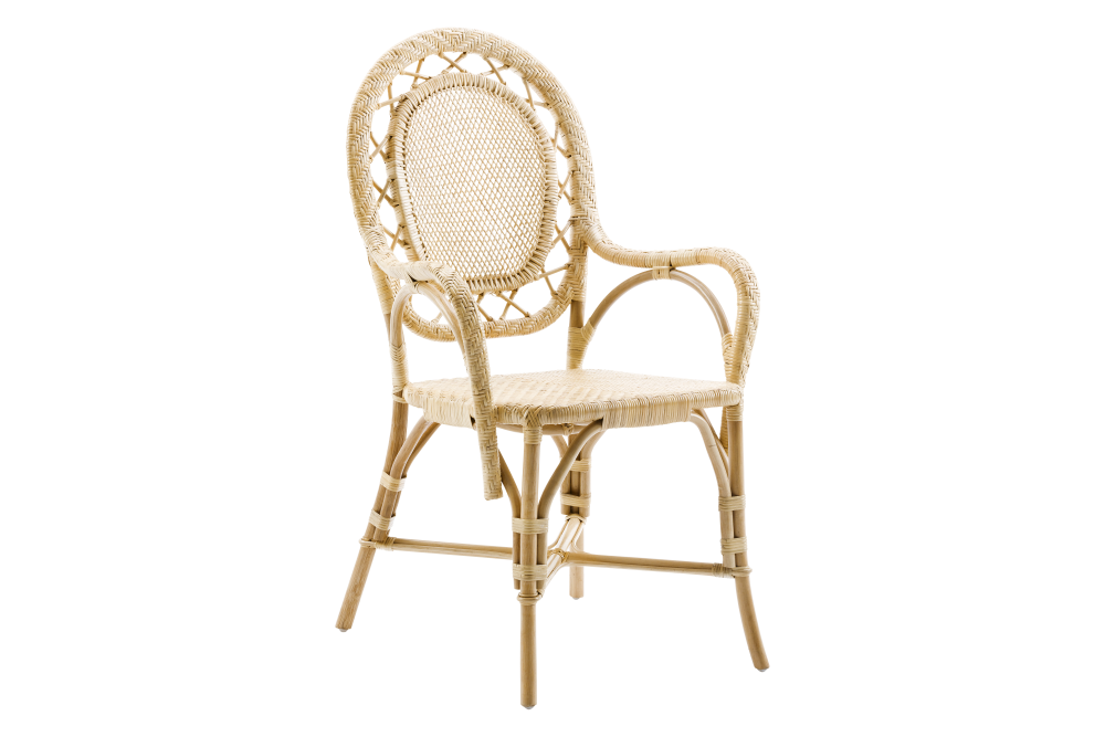 Romantica Chair with Arms Set of 2 by Sika Design