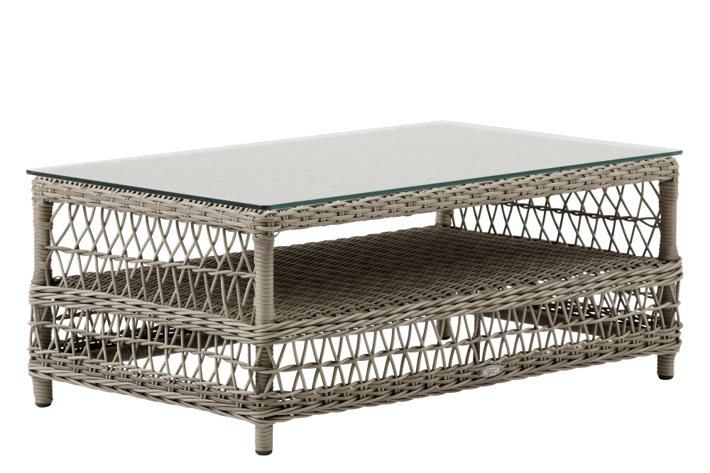Hazel Coffee Table With Glass top by Sika Design