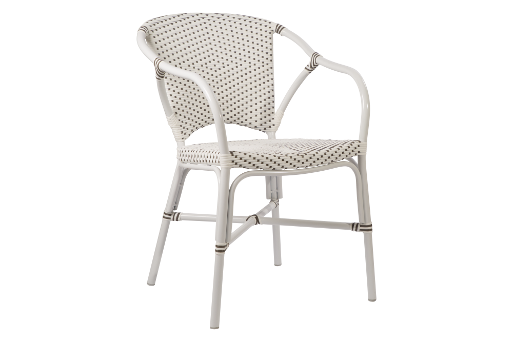 Valerie Aluminium Chair Set of 2 by Sika Design