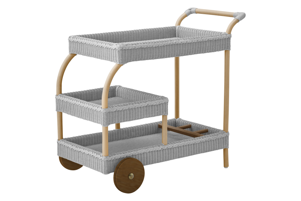 James Light Grey Trolley by Sika Design