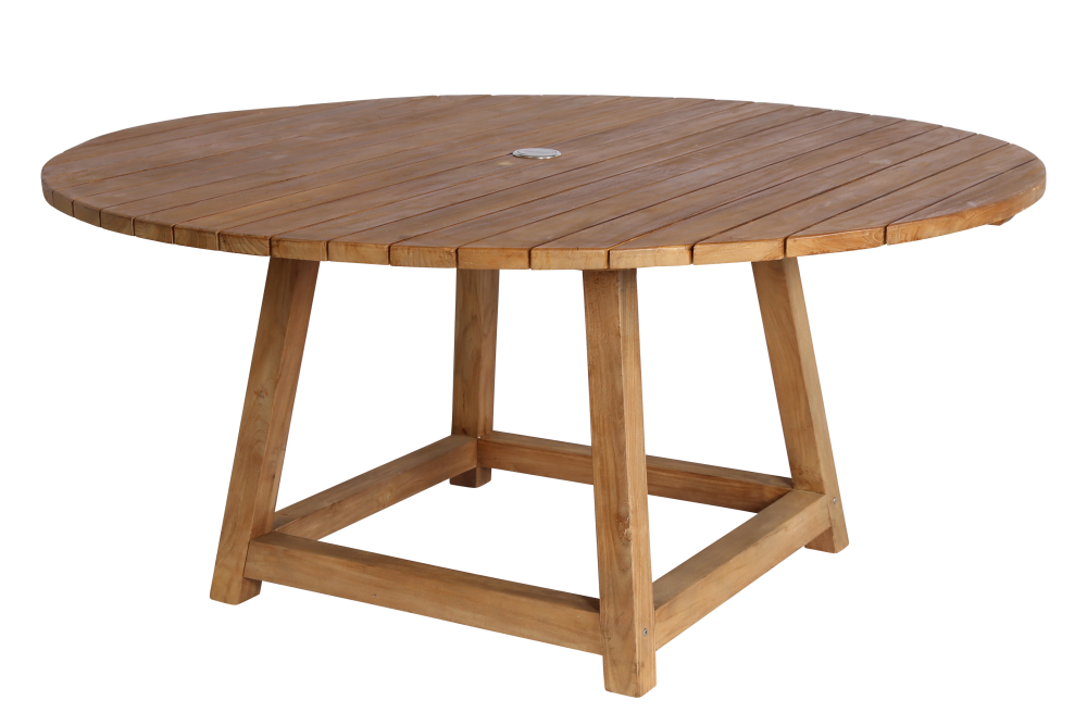 George Teak Table Round by Sika Design