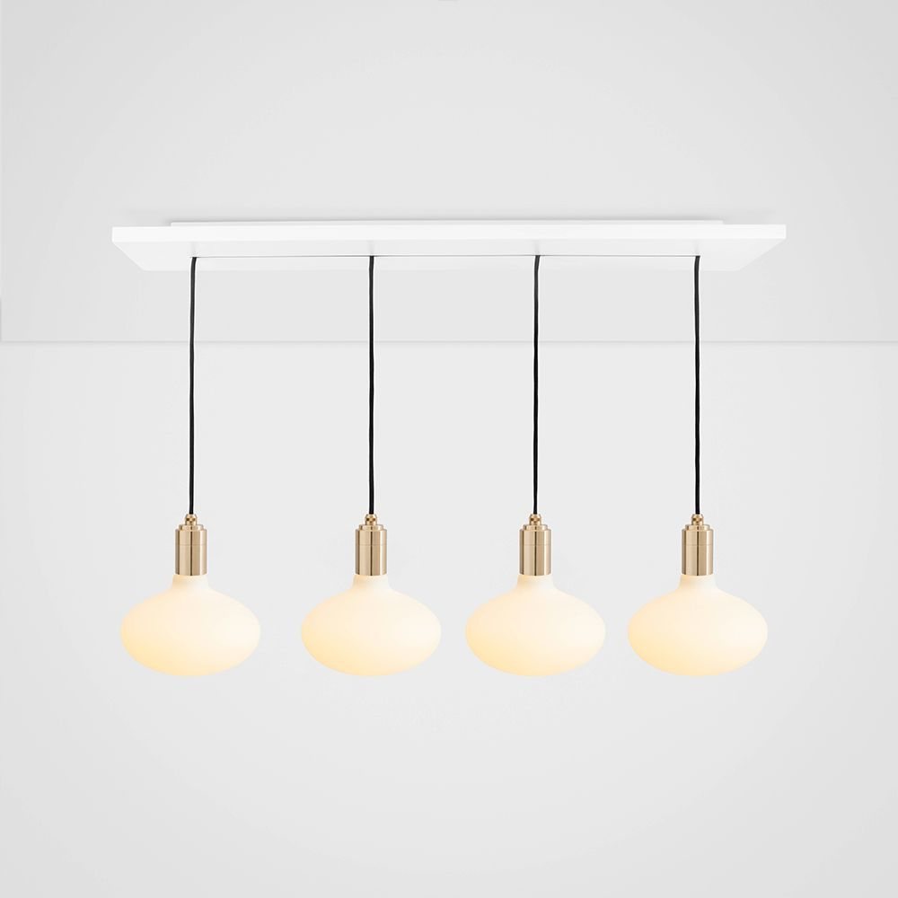 Oval Brass Ceiling Light  by Tala