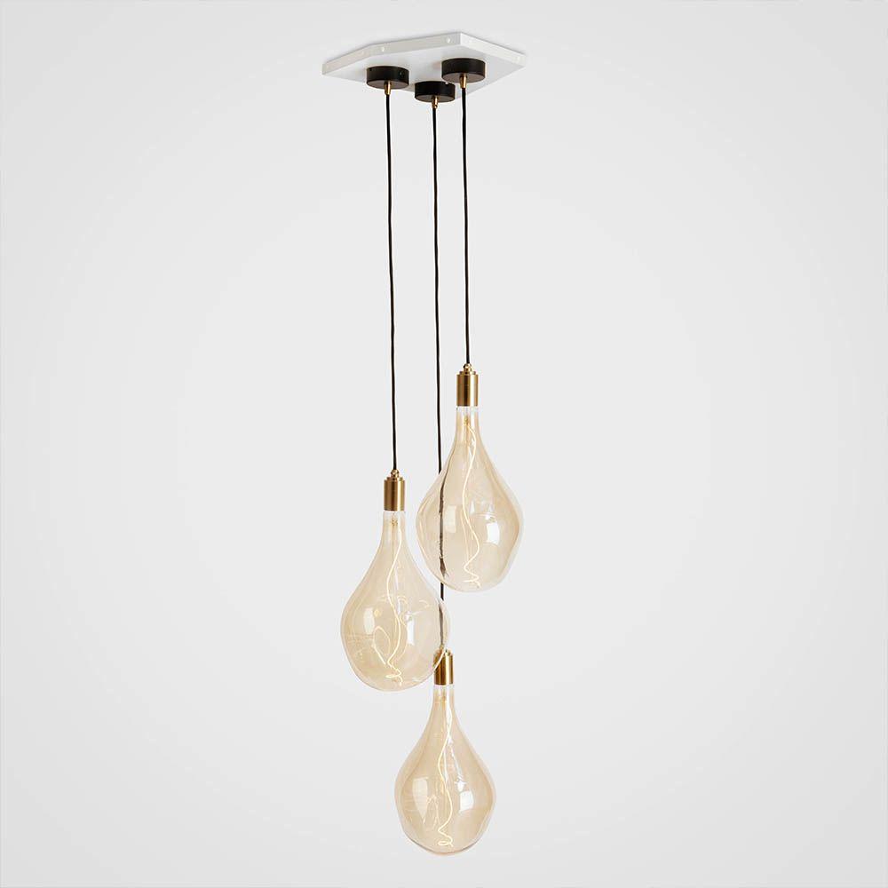 Voronoi III Brass Ceiling Light  by Tala