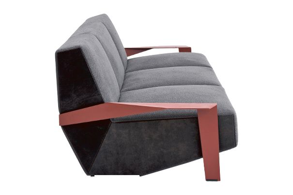 Silver Lake 3 Seater Sofa with Arms by Moroso