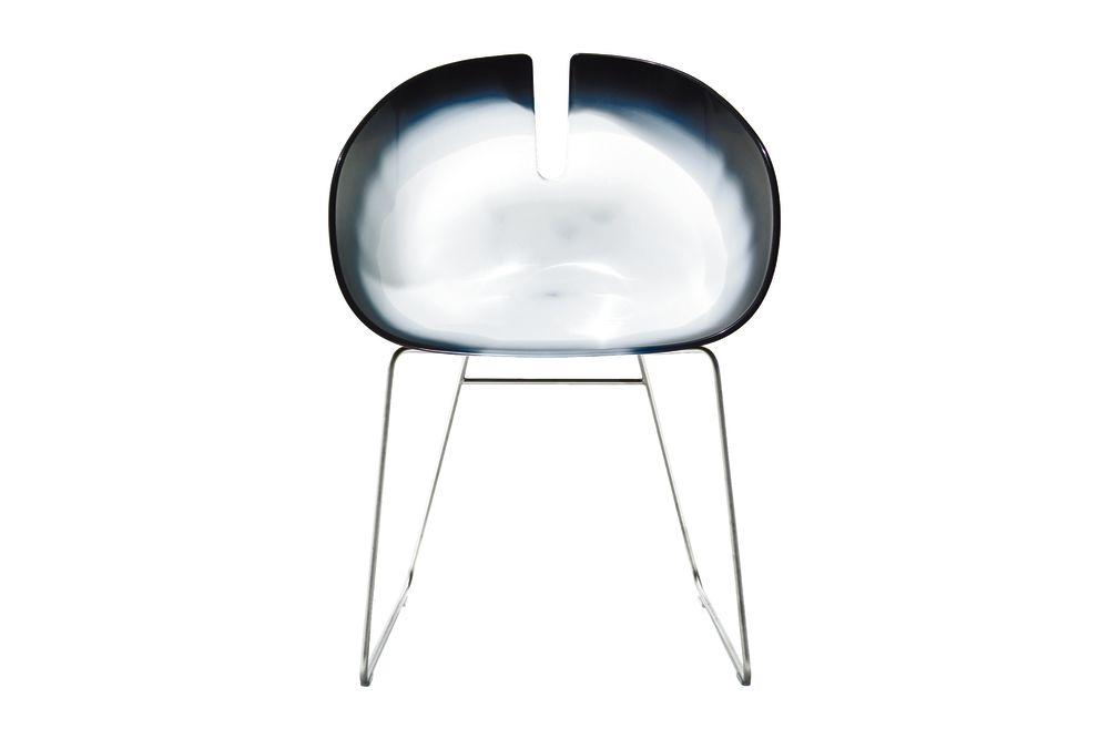 Fjord H. Sled Base Armchair by Moroso