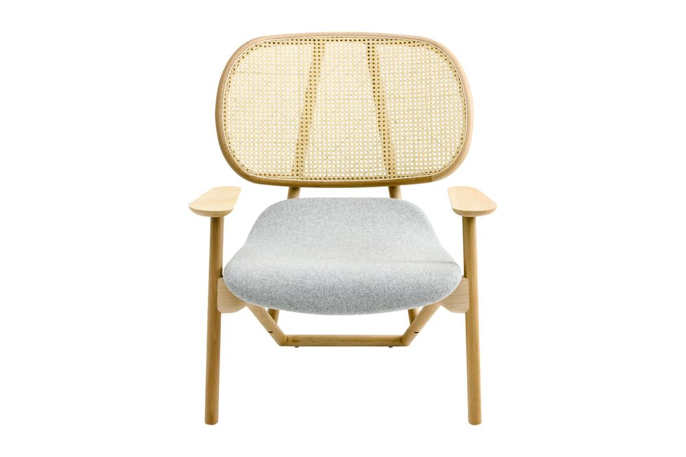 Klara Armchair with Cane Back by Moroso