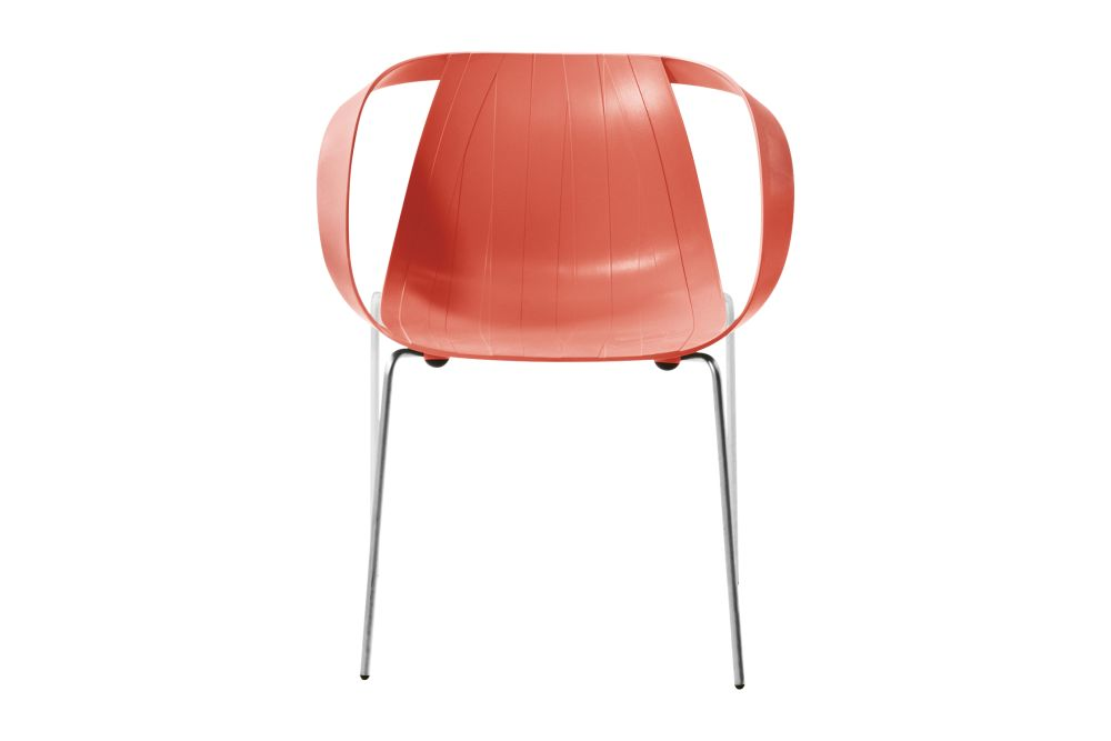 Impossible Wood Armchair Set of 2 by Moroso