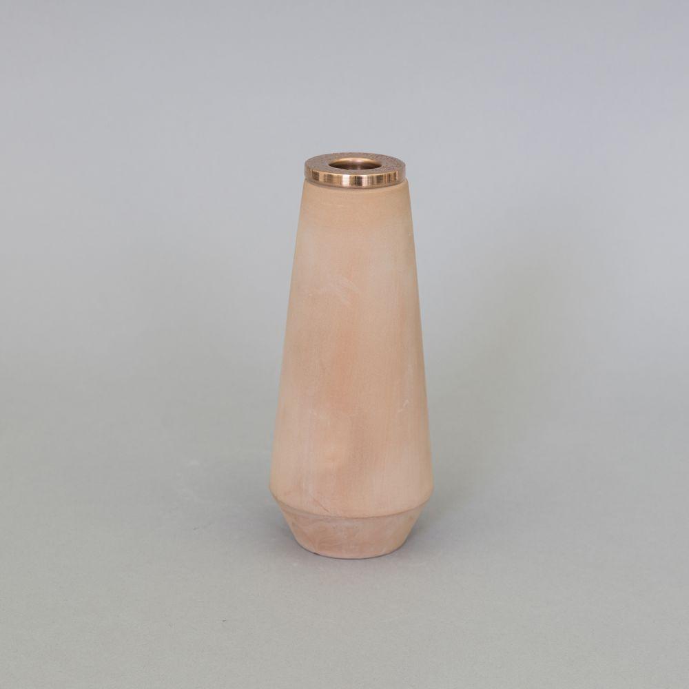 Tall Candleholder by Hend Krichen