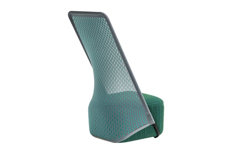 Cradle Highback Armchair by Moroso