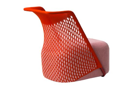 Cradle Lowback Armchair by Moroso