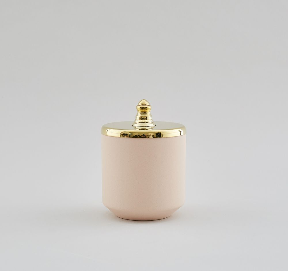 Pink Small Jar by Hend Krichen