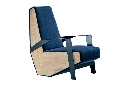 Silver Lake Armchair with Arms by Moroso