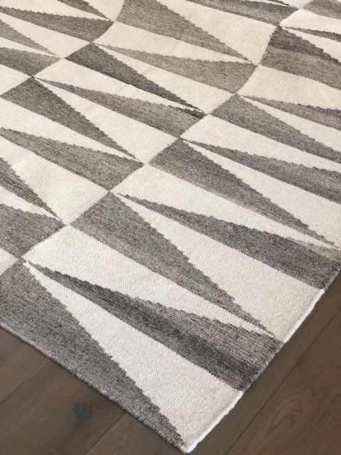 Kandy Kelim Ash by Bazaar Velvet Contemporary Rugs