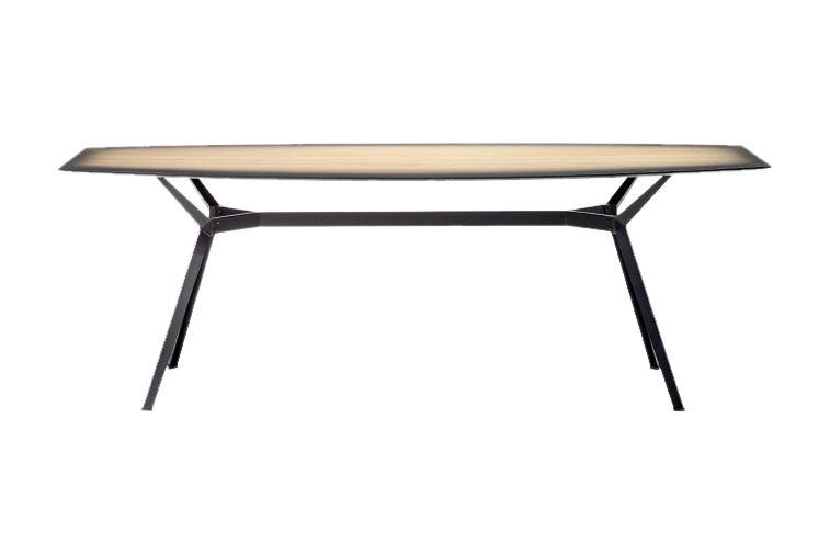 Pylon Gradient Dining Table by Diesel Living with Moroso
