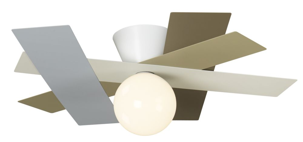 RAIL ceiling lamp by GIBAS