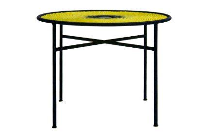 Banjooli Round Table by Moroso