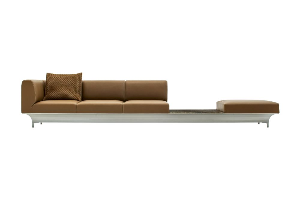 Teo 4 Seater Sofa with Table by Moroso