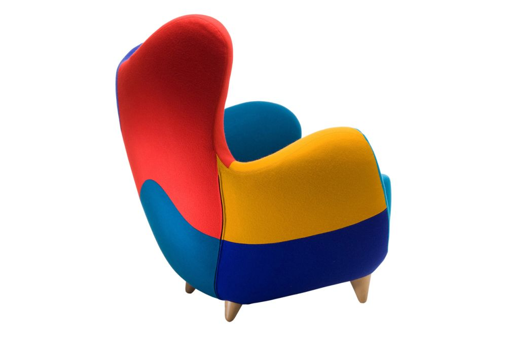 Los Muebles Amorosos Alessandra Bright Colour Armchair by Moroso