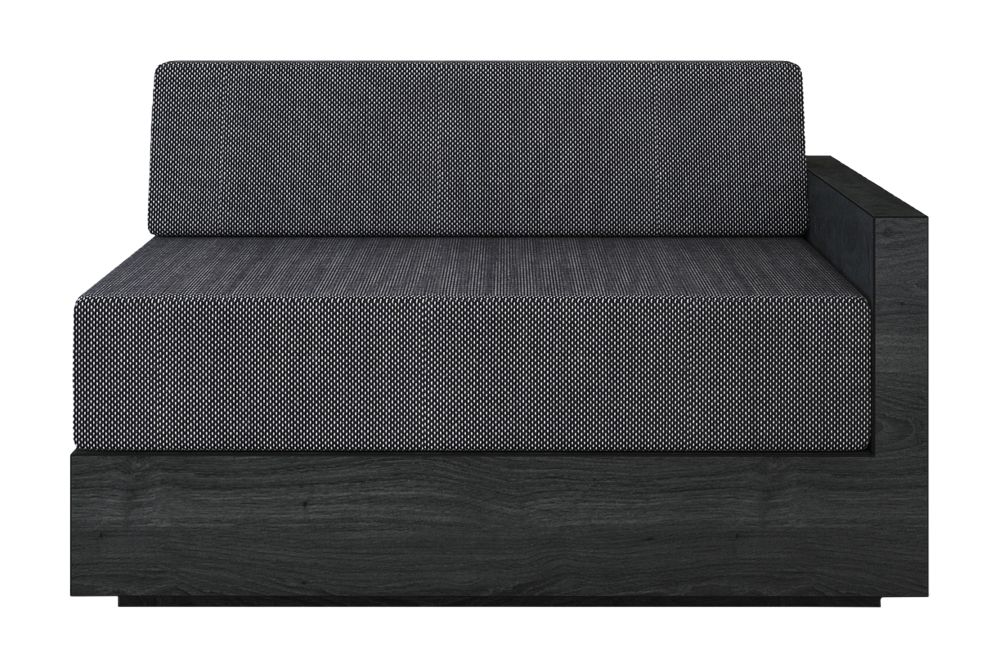Mass Wide Right Arm Sofa by New Works