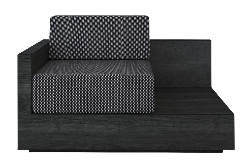 Mass Lounge Left Arm Sofa by New Works