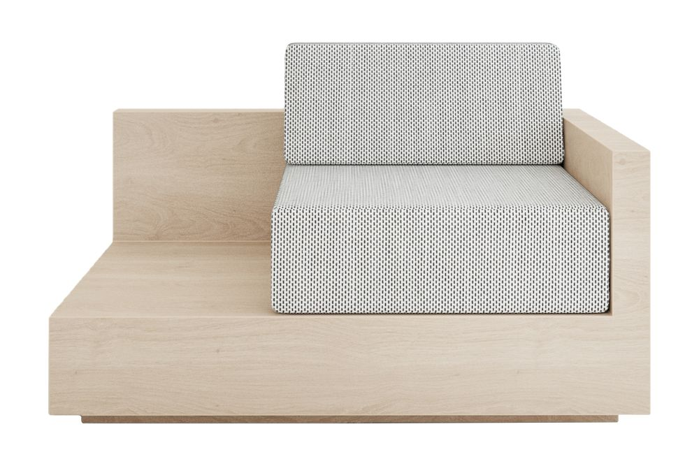 Mass Lounge Right Arm Sofa by New Works