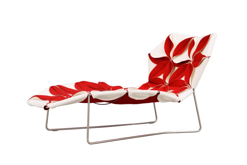 Antibodi Multicolor Chaise Longue with flowers by Moroso