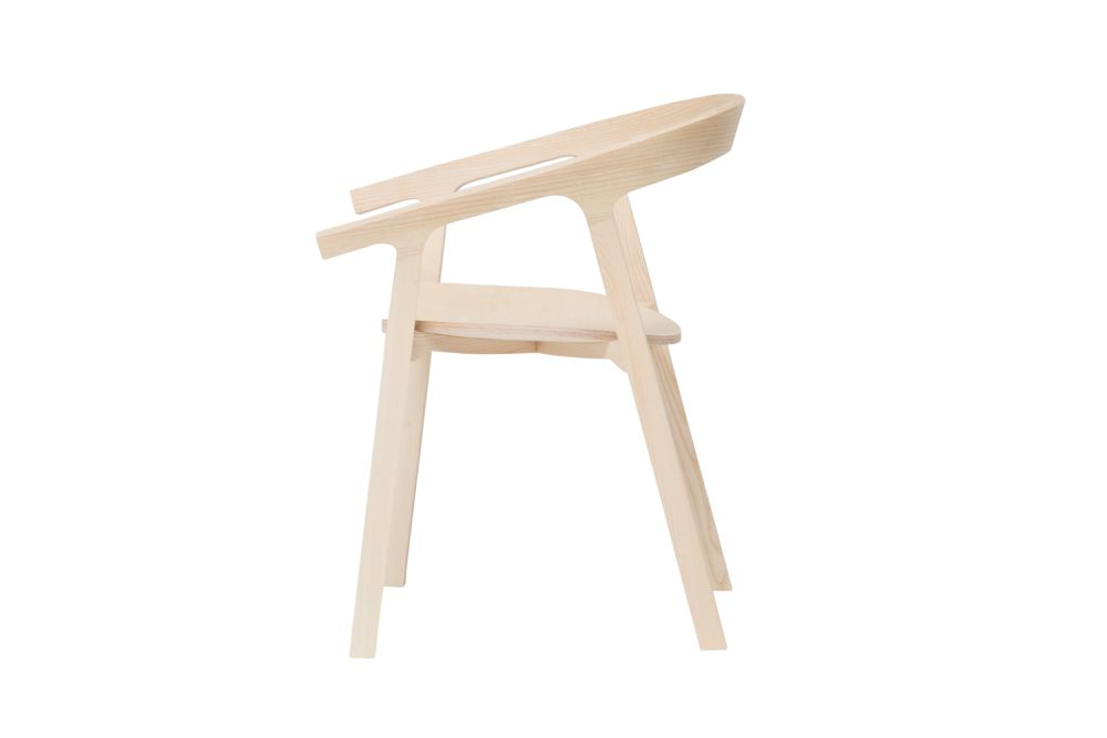 He Said Stackable Chair by Mattiazzi