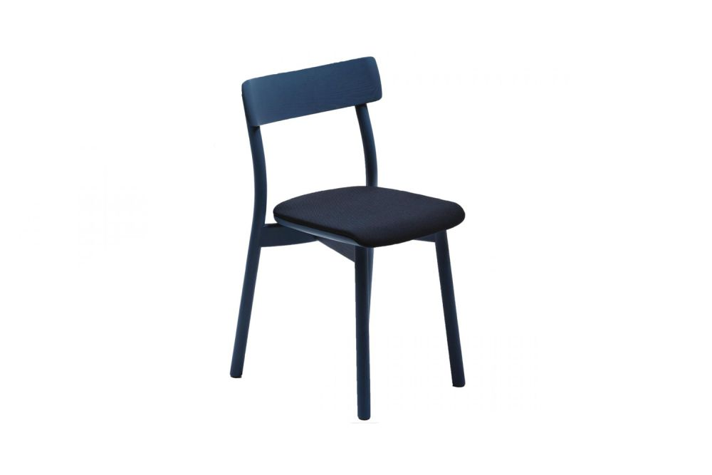 Chiaro Upholstered Stackable Chair by Mattiazzi