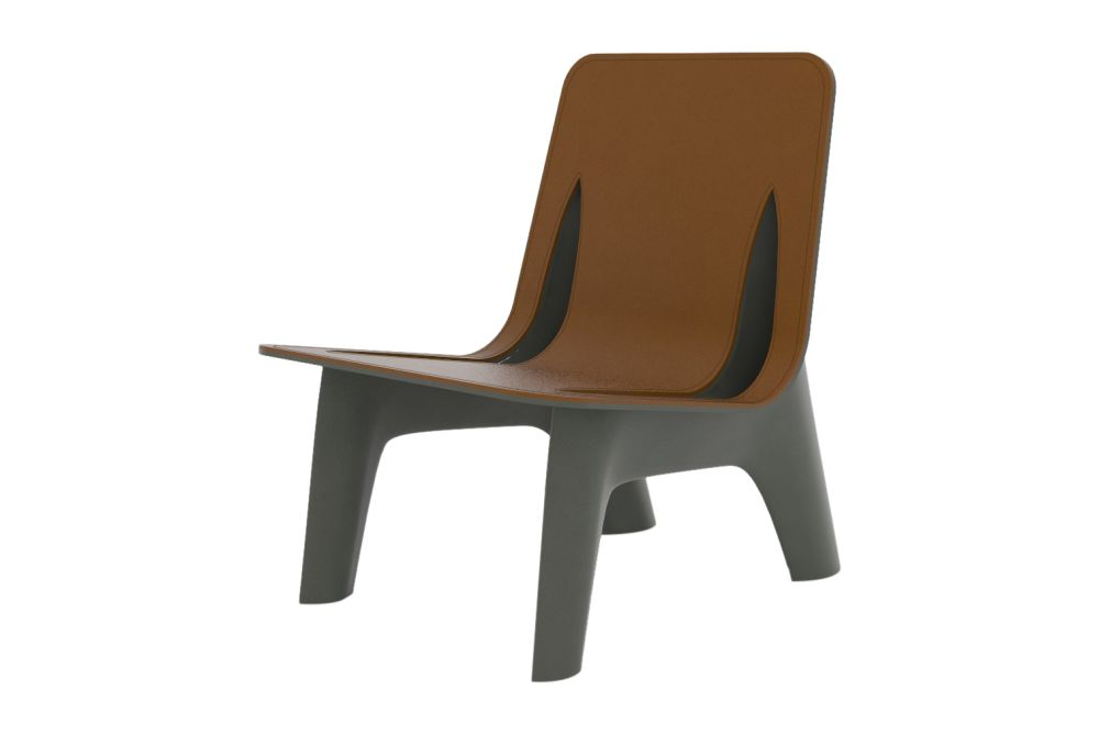 J-Chair Lounge with Upholstery by Zieta