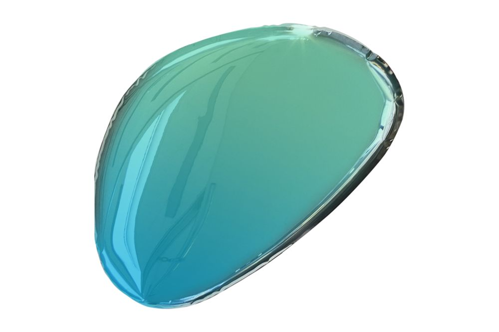 Tafla Gradient Mirror - O2 by Zieta