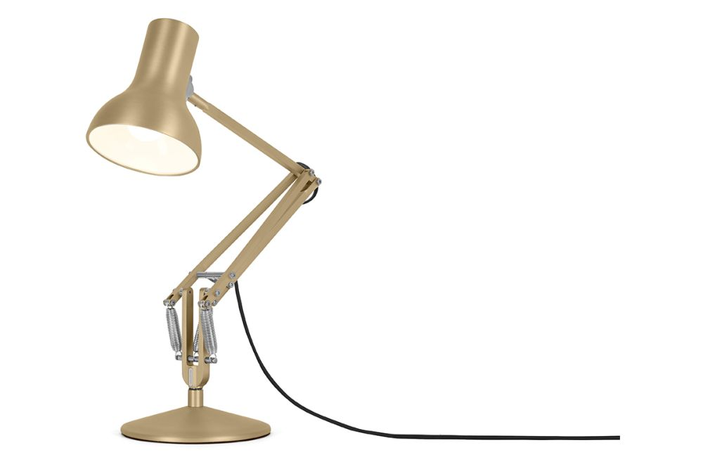 Type 75 Mini Metallic Desk Lamp by Anglepoise