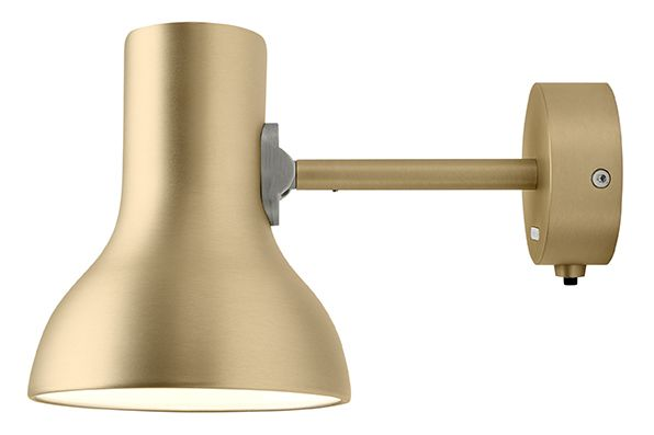 Type 75 Mini Metallic Wall Light by Anglepoise