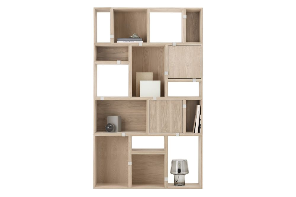 Stacked Storage System 2.0 - Configuration 9 by Muuto