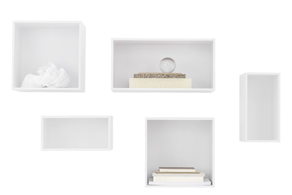 Mini Stacked Storage System 2.0 - Configuration 4 by Muuto