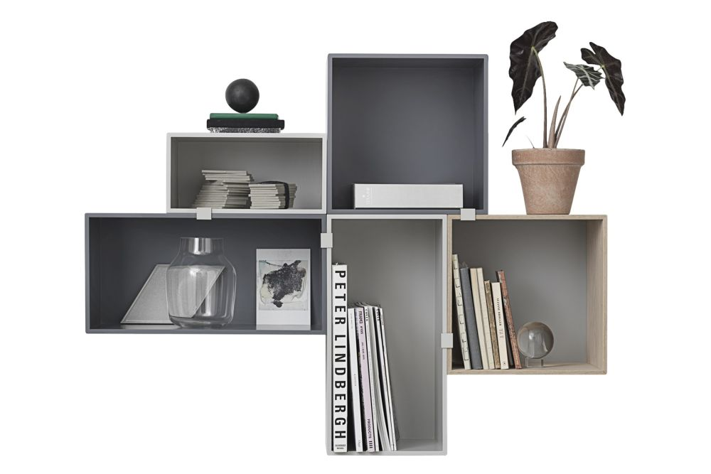 Mini Stacked Storage System 2.0 - Configuration 6 by Muuto