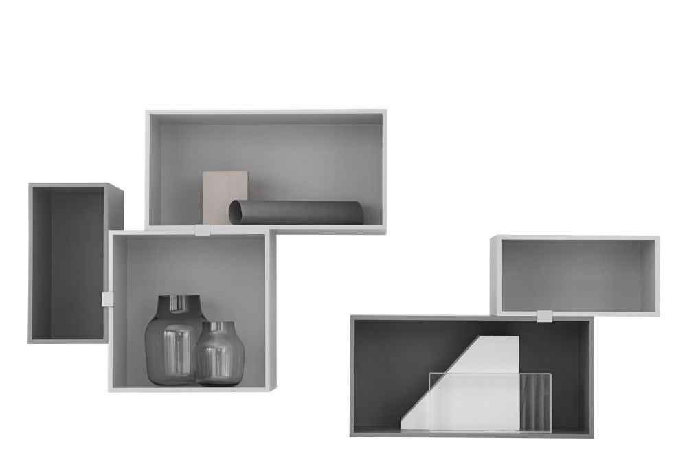 Mini Stacked Storage System 2.0 - Configuration 5 by Muuto