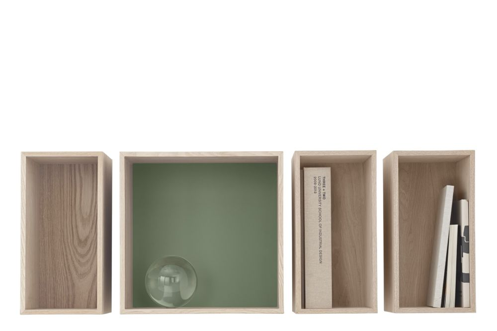 Mini Stacked Storage System 2.0 - Configuration 2 by Muuto