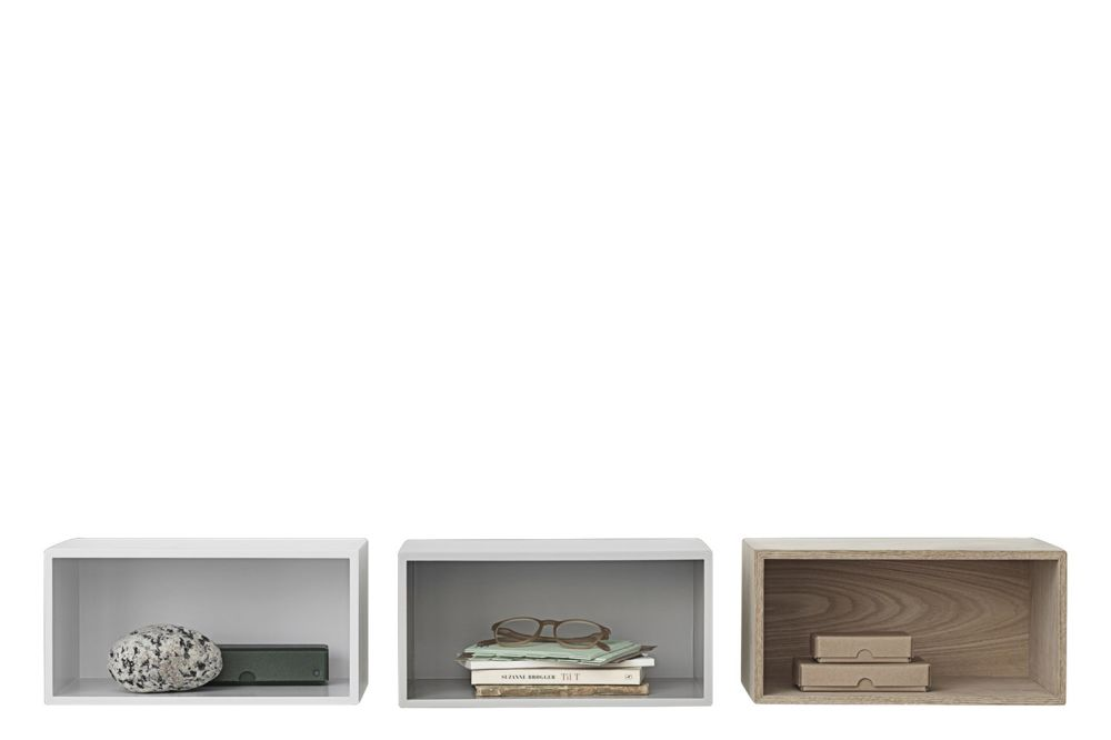 Mini Stacked Storage System 2.0 - Configuration 1 by Muuto