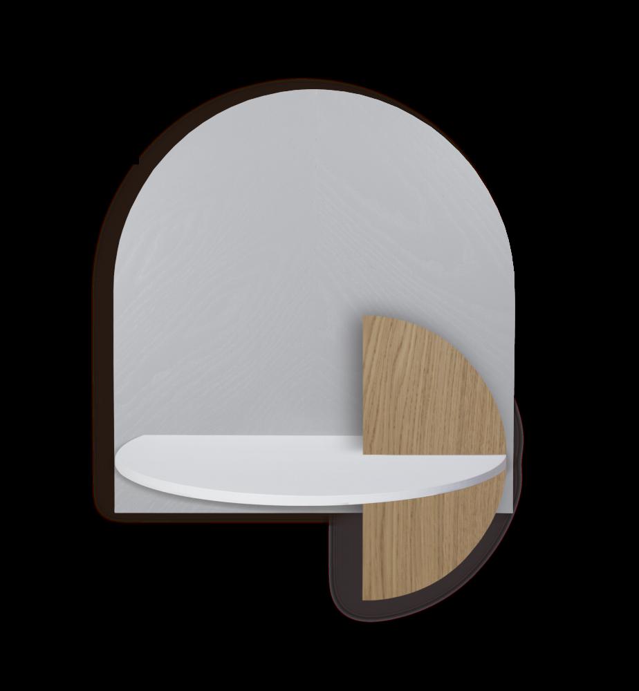 ALBA L - Herringbone. Modular bedside shelf. Storage. Customizable. by WOODENDOT