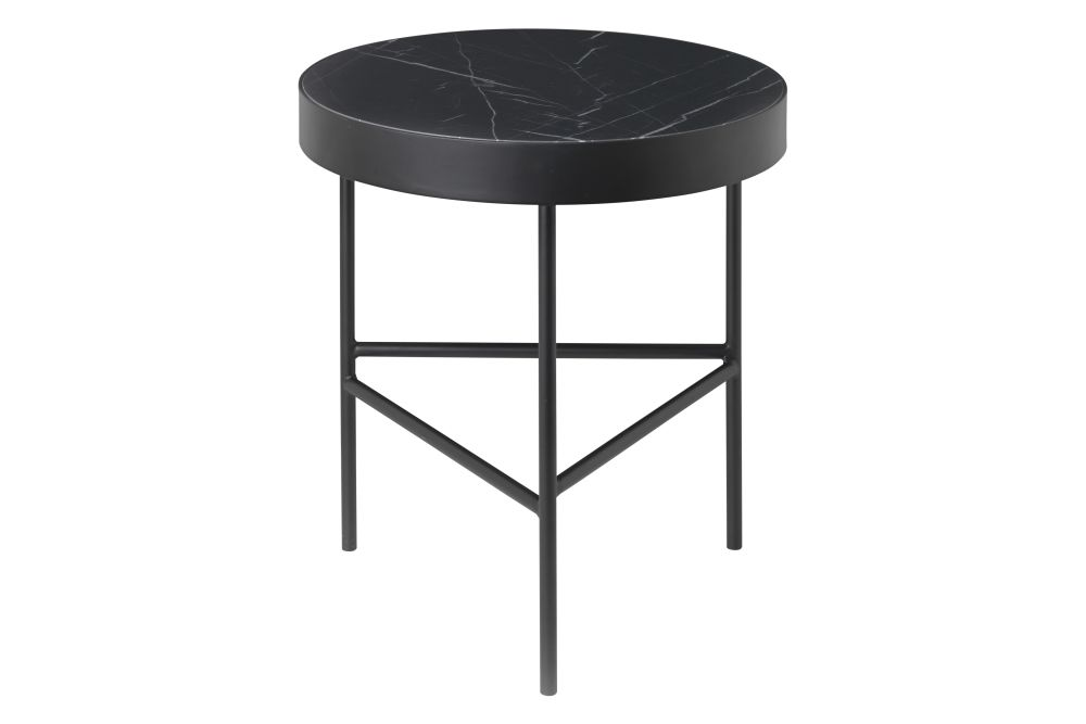 Marble Side Table - Medium by ferm LIVING