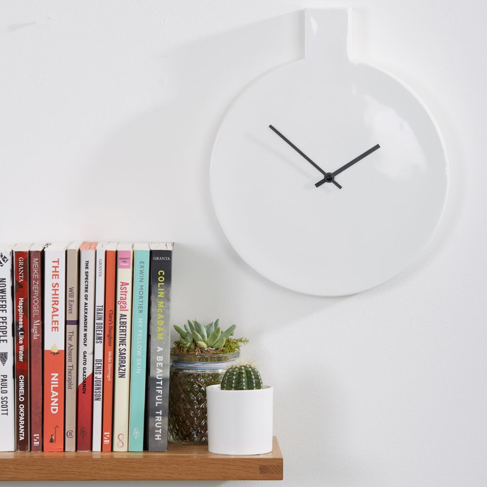 Label Clock by Thelermont Hupton