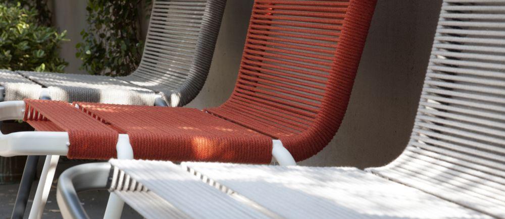 3 Badmington Chairs outdoor Collection Milano Italian design