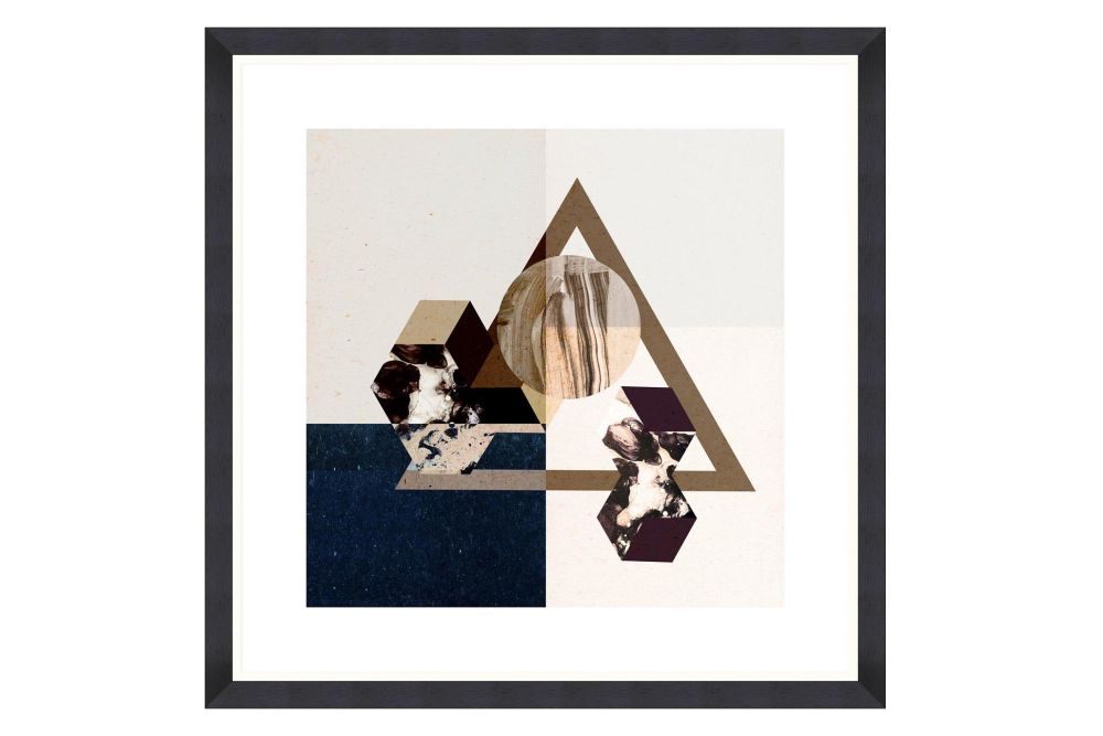 Minimal Geometry Framed Art by Mind The Gap